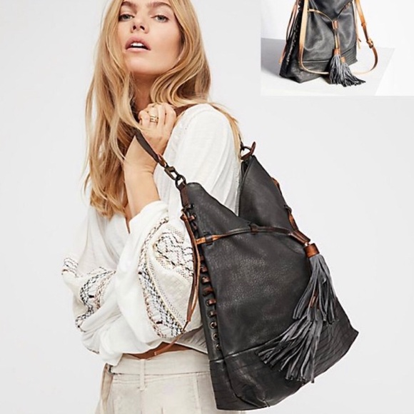 Free People Gramercy Washed Hobo bag. Never used.